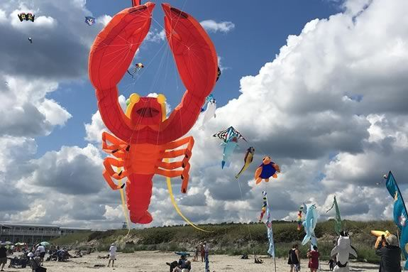 The Annual Revere Beach Kite Festival