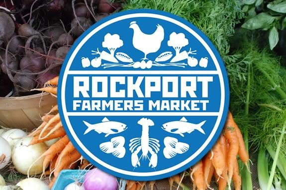 The Rockport Farmers' Market runs every Saturday at Rockport Music in Downtown Rockport!