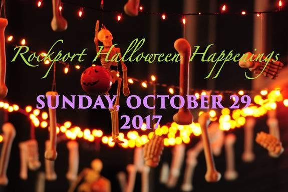 Come to Rockport MA for Halloween Fun and Community Spirit!