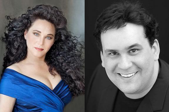 Elizabeth Blancke-Biggs and Cameron Schutza perform a free concert at Shalin Liu