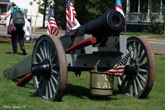 "The Rowley Town Cannon - ""Old Nancy"".  Photo: Rowley Fire Department"