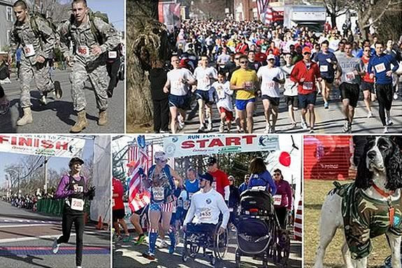 The Run for the Troops 5k honors our military and help build homes designed for the unique injuries of specific soldiers.