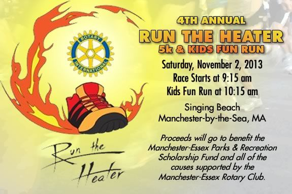 Kids will race in Manchester for the 'Run the Heater' Race!