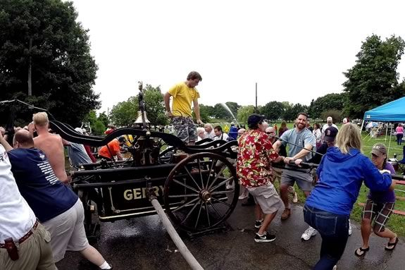 The Fireman's Muster at Salem Willows is partoThe Fireman's Muster at Salem Willows is a Salem Massachusetts Heritage Days tradition!