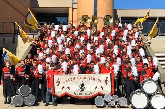 The Salem High School Marching Band is just one of the music programs that will benefit from the annual Matress Sale fundraiser!