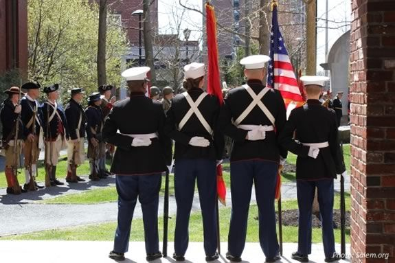 Salem Massachusetts Memorial Day Ceremonies and Parade.