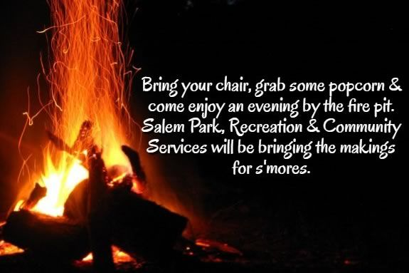 Salem Massachusetts Annual Firepit at Salem Willows