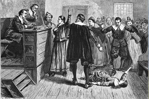 Learn about the Witch Trials of Salem on a walking tour with Trails & Sails 2013