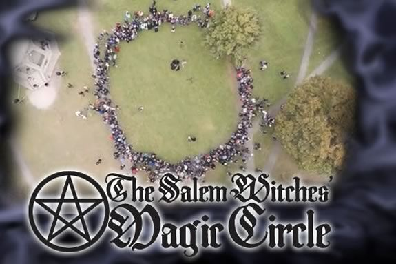 Join the Witches of Salem on the Salem Common to celebrate the Magic Circle - a Halloween tradition!