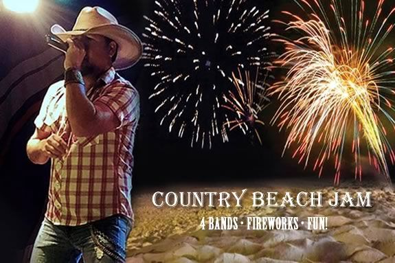 Kick off the Summer at Salisbury Beach's Country Beach Jam!