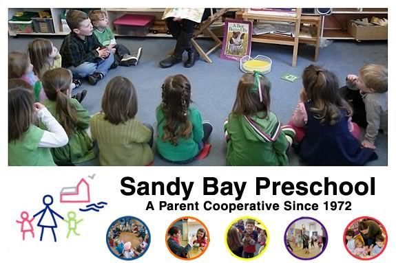 Proceeds from the Sandy Bay Preschool's bake sale go directly to school programs