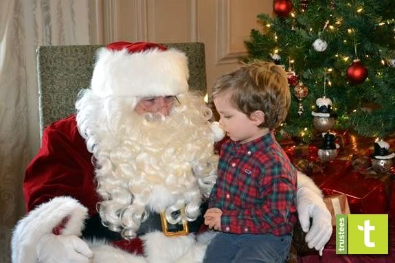 Kids will meet Santa at the Crane Estate in Ipswich MA!