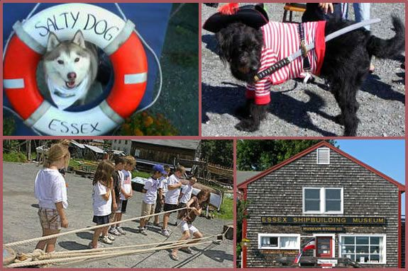Salty Dog Day at Essex Shipbuilding Museum is all about pets, kids and families!