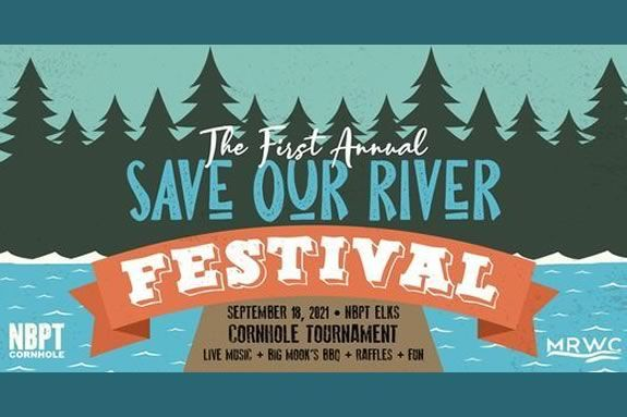 """Newburyport NBPT Cornhole and the Merrimack River Watershed Council present the 1st Annual """"Save Our River Festival"""""""