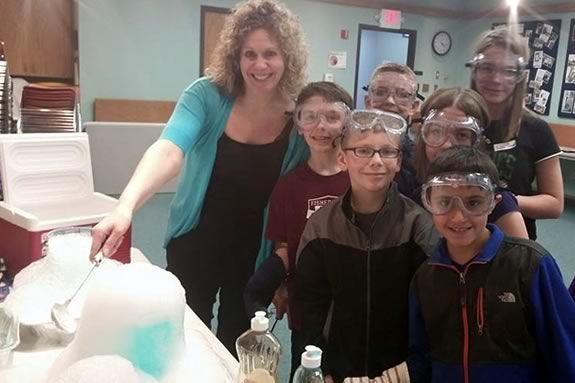 Sawyer Free Library programs for kids of Cape Ann - Science Club with Miss Lisa