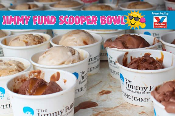 Scooper Bowl, Jimmy Fund Scooper Bowl Fundraiser for Dana-Farber Cancer Institut