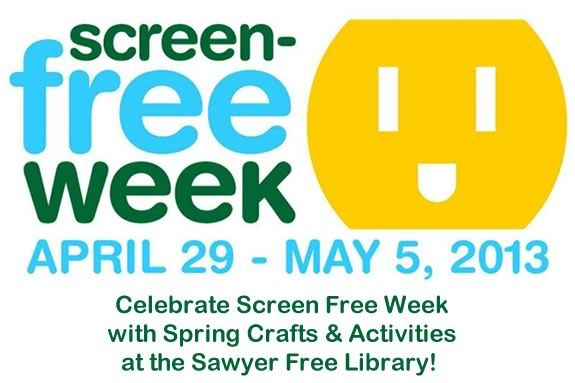 Come enjoy screen-free spring activities at Sawyer Free Library in Gloucester!