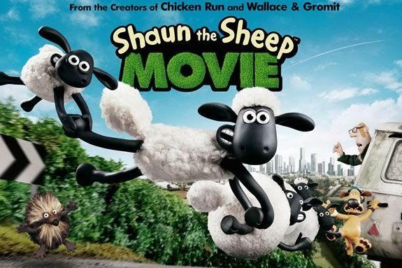 Shaun the Sheep Movie at Newbury Town Library.