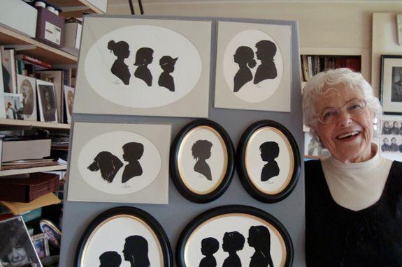 Silhouette Artist, Carol Lebeaux, Hand-Cut Heirloom Portraits Wenham Museum