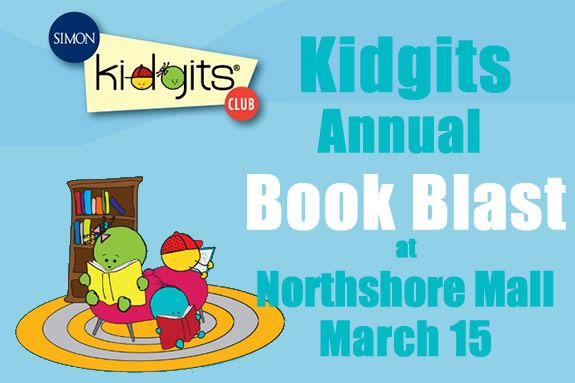 Simon Malls, Northshore Mall, Peabody MA, Kidgits Kids Club
