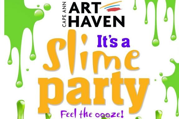 Come make slime at Cape Ann Art Haven in Gloucester. Feel the ooze!