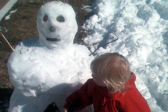 Come join the fun and make snow people at the Trustees of Reservations' Crane Estate in Ipswich Masaachusetts