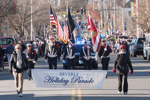 Beverly MA Holiday Parade on November 25, 2018
