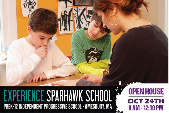 Sparhawk School Amesbury MA PreK to Grade 12. Come tour during an open house on October 24, 2015