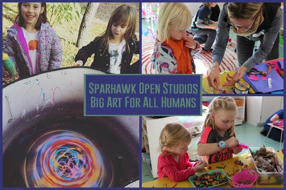 Sparhawk School presents Big Art For All Humans