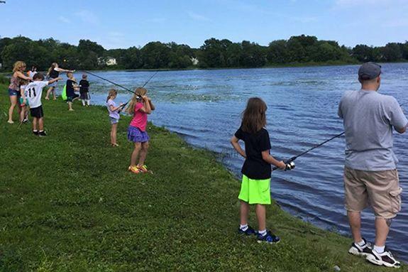 Spot Pond Family Fishing Festival - Stoneham MA
