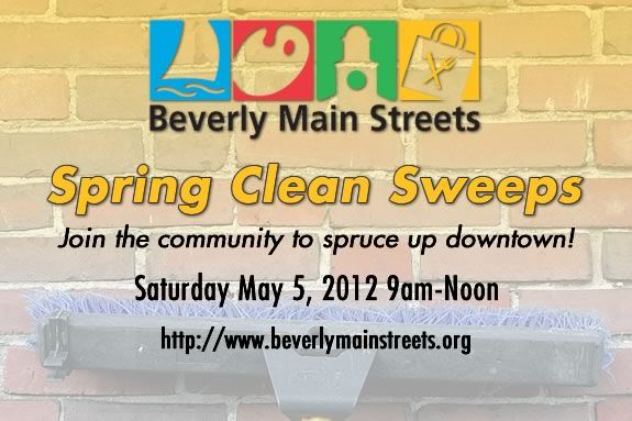 Help clean up downtown Beverly in preparation of Spring!