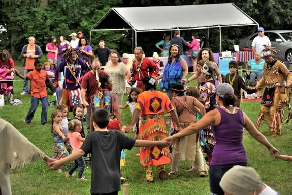 Come to the Annual Native American Pow-Wow at Plug Pond in Haverhill, Massachusetts!