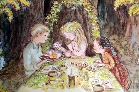 Join the Wenham Museum for a Tasha Tudor style tea party!