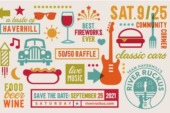 Come celebrate Haverhill's River Front at the River Ruckus in Haverhill Massachusetts!