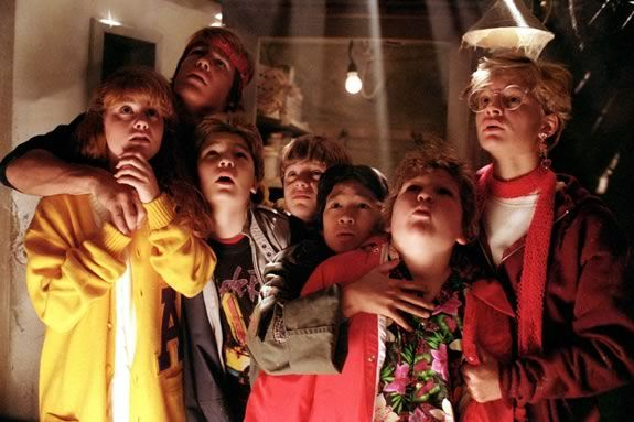 Come watch a FREE showing of the Goonies on the waterfront in Gloucester MA