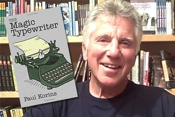 Kids will meet Paul Korins, authro of 'The Magic Typewriter' at Abbot Library in Marblehead.
