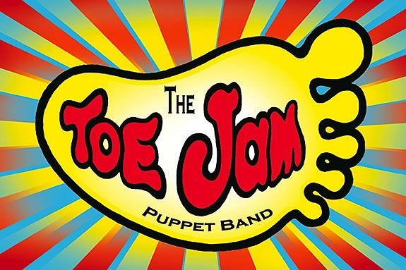 Toe Jam Puppet Band at the TOHP Burnham Library in Essex Massachusetts!