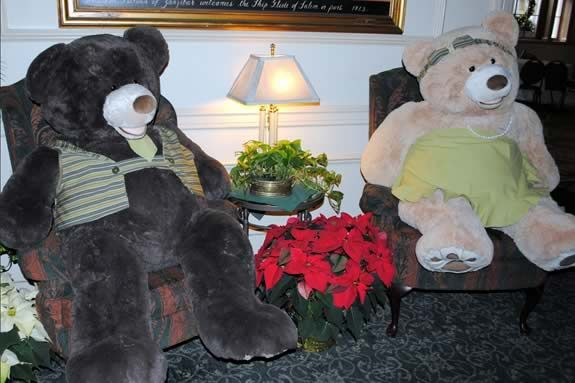 Toys for Tots Teddy Bear Tea at Hawthorne Hotel Salem MA. Visit Salem Massachuse