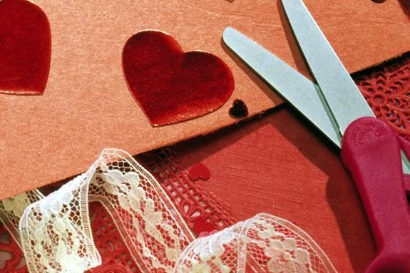 Come make you own Valentines at the Peabody Institute Library in Danvers
