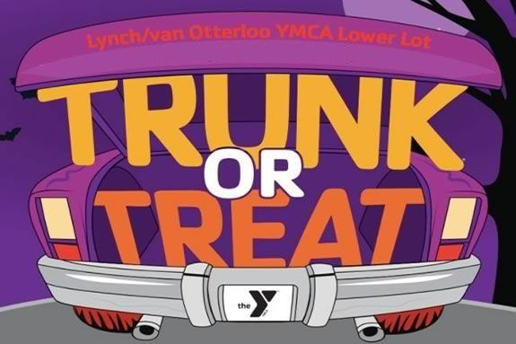 Van Otterloo YMCA in Marblehead Ma wiil host the a trunk or treat in their lower parking lot.