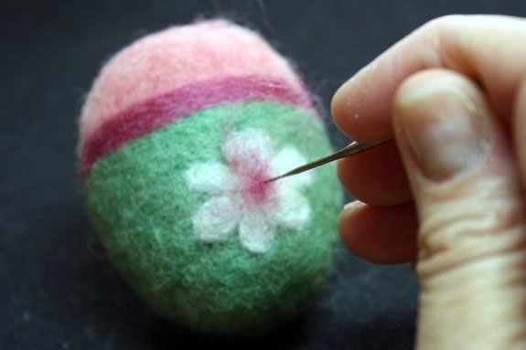 Waldorf School in Beverly hosts a Spring Egg Felting workshop.