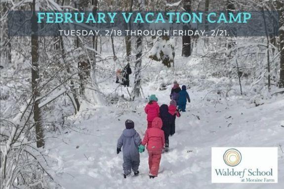 February Vacation Winter Camp at Moraine Farm