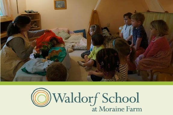 The Waldorf School Story Hour offers a parents a chance to check out the school