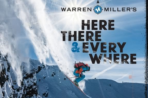 Come see Warren Miller's 'Here There & EveryWhere' at the Firehouse Center for the Arts in Newburyport!!