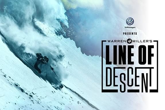 """Warren Miller's """"Line of Descent"""" at the cabot in Beverly Massachusetts"""