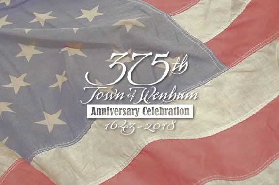 The town of Wenham Massachusetts celebrates 375 years with a parade and community day!