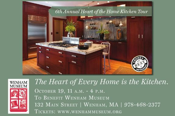 Wenham Museum Annual Heart of the Home Kitchen Tour