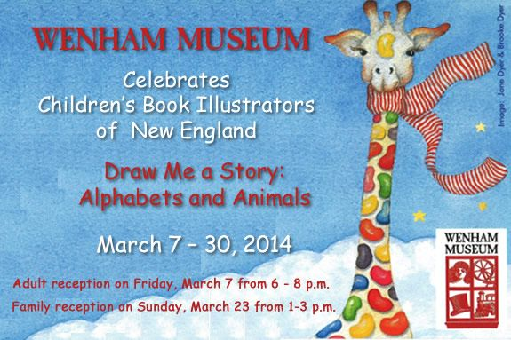 Wenham Museum, Draw Me a Story: Alphabets and Animals Exhibit. Visit Wenham Muse