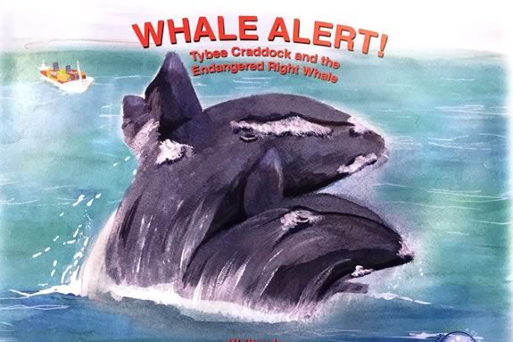 Whale Alert! author Angela Kakabeeke at Abbott Library in Marblehead