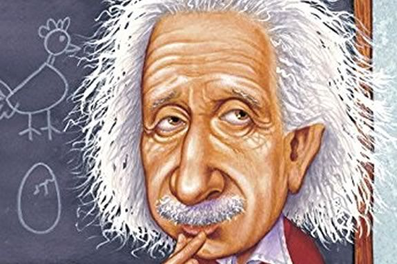 Who Was Albert Einstein?  A bookclub for kids in grades 2-5 at Newbury Town Library